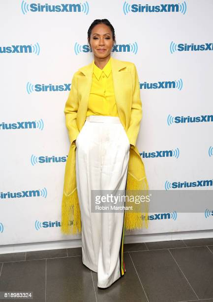 Jada Pinkett Smith during Hoda Kotb Hosts A Leading Ladies Event With Jada Pinkett Smith For SiriusXM Today Show Radio at SiriusXM Studios on July 19...