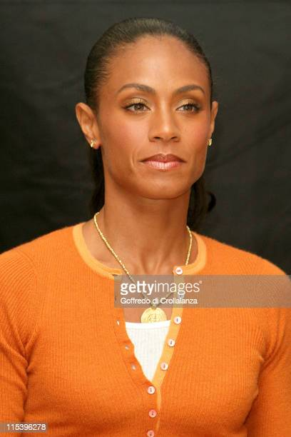 Jada Pinkett Smith during 'Madagascar' London Photocall at Mandarin Oriental Hotel in London Great Britain