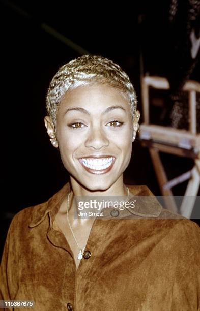 Jada Pinkett Smith during Premiere of 'Tales From the Crypt Demon Knight' at Hollywood Galaxy Theatres in Hollywood California United States