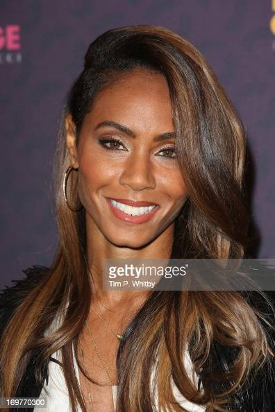 Jada Pinkett Smith poses backstage in the media room at the 'Chime For Change The Sound Of Change Live' Concert at Twickenham Stadium on June 1 2013...