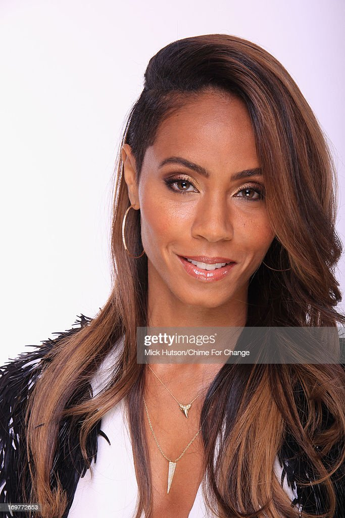 Jada Pinkett Smith poses for a portrait backstage at the 'Chime For Change: The Sound Of Change Live' Concert at Twickenham Stadium on June 1, 2013 in London, England. Chime For Change is a global campaign for girls' and women's empowerment founded by Gucci with a founding committee comprised of Gucci Creative Director Frida Giannini, Salma Hayek Pinault and Beyonce Knowles-Carter.