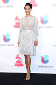 Jada Pinkett Smith poses in the press room during the 16th Latin GRAMMY Awards at the MGM Grand Garden Arena on November 19 2015 in Las Vegas Nevada