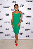 Jada Pinkett Smith visits 'Extra' at their New York studios at HM in Times Square on March 5 2015 in New York City