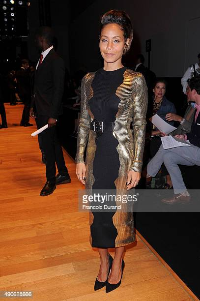 Jada PinkettSmith attends the Guy Laroche show as part of the Paris Fashion Week Womenswear Spring/Summer 2016 on September 30 2015 in Paris France