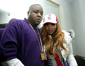 Jadakiss and Ciara during Carmelo Anthony's NBA AllStar Party Hosted by Nelly at Palladium in Denver Colorado United States