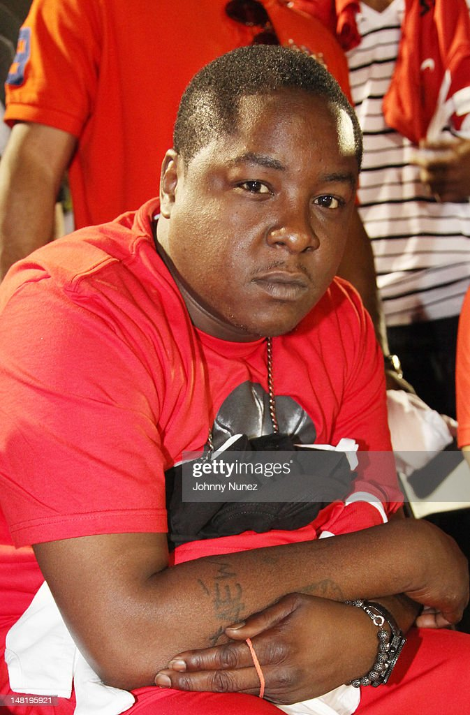 Jadakiss attends the Jadakiss & Team Nike Basketball Game at Rivington Court on July 11, 2012 in New York City.