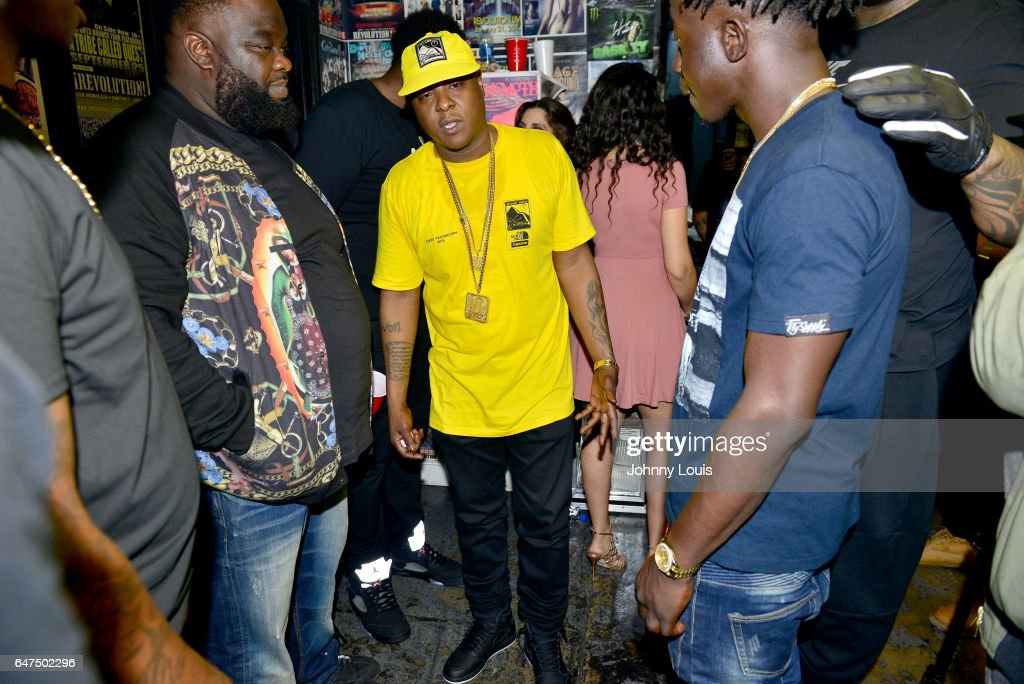 Jadakiss backstge after performing with Fabolous during 'Freddy Vs Jason Tour' at Revolution Live on March 2, 2017 in Fort Lauderdale, Florida.