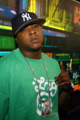 Jadakiss during 'Direct Effect' Presents Straight Up HipHop All Week at MTV Studios April 22 2004 at MTV Studios in New York City New York United...