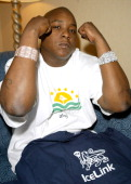 JadaKiss during IceLink Watches Gift Suite at the 2004 Radio Music Awards Day 1 2 at Aladdin Resort and Casino in Las Vegas Nevada United States