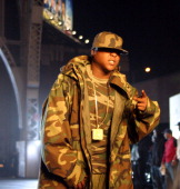 Jadakiss during Ja Rule Video Shoot New York October 12 2004 at 135th 12th Avenue in New York City New York United States