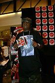 Jadakiss during Jadakiss Signs his New CD 'Kiss Of Death' at Virgin Megastore in New York City New York United States