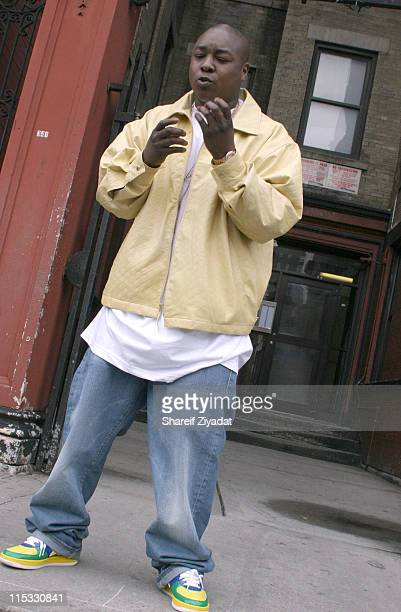 Jadakiss during Jadakiss Video Shoot May 5 2004 at Harlem in New York City New York United States