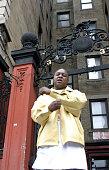 Jadakiss during Jadakiss Video Shoot May 5 2004 at Harlem in New York City New York United States