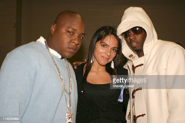 Jadakiss Guest and Sean 'Diddy' Combs during Power 1051 FM Presents JayZ 'I Declare War' Concert October 27 2005 at Convention Center in New York...