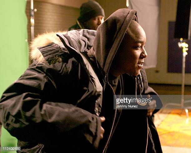 Jadakiss of The Lox during Ghostface Killah's 'Run' Video Shoot at Jail Location In The Bronx in Bronx New York United States