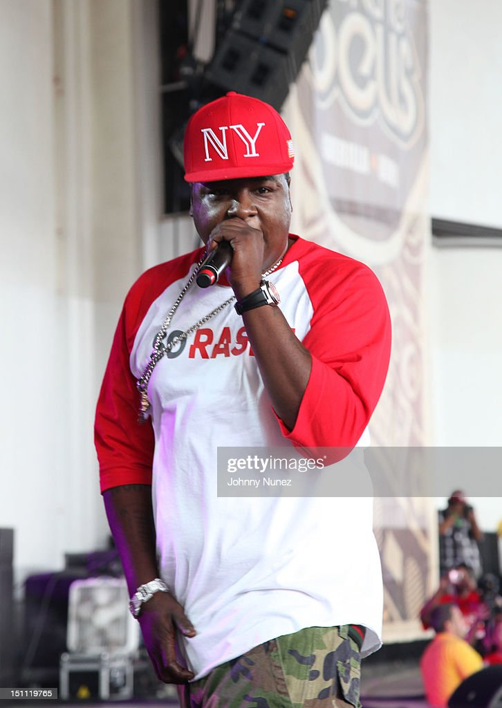 Jadakiss performs during 2012 Rock The Bells at the PNC Bank Arts Center on September 1, 2012 in Holmdel, New Jersey.