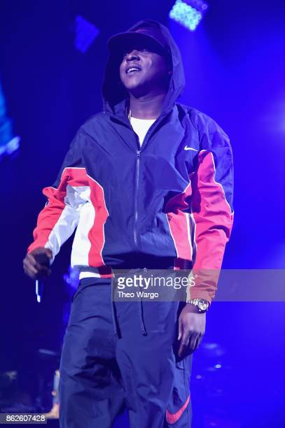 Jadakiss performs onstage during TIDAL X Brooklyn at Barclays Center of Brooklyn on October 17 2017 in New York City