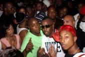 Jadakiss Sean 'P Diddy' Combs and Pharrell Williams