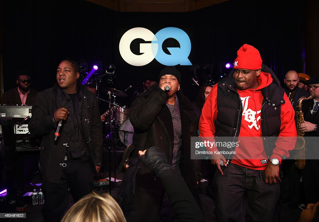 Jadakiss, Styles P, and Sheek Louch of The Lox perform onstage with The Roots at GQ and LeBron James Celebrate All-Star Style on February 14, 2015 in New York City.