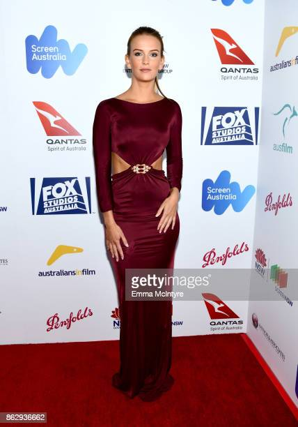 Jade Albany attends the 6th Annual Australians in Film Award Benefit Dinner at NeueHouse Hollywood on October 18 2017 in Los Angeles California