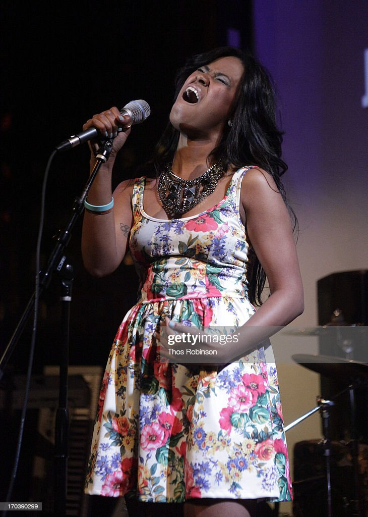 Jade Alston performs at BET's Music Matters Showcase at SOB's on June 11, 2013 in New York City.