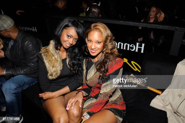 Jade and Olivia attend HENNESSY WRAPS UP ARTISTRY 2010 WITH THE HALO EVENT IN NYC WITH CURATORS THE ROOTS AND QTIP at Cipriani Wall Street on October...