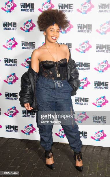 Jade Avia arrives at the VO5 NME awards 2017 on February 15 2017 in London United Kingdom