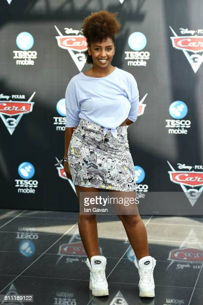 Jade Avia attends the 'CARS 3' Charity Gala Screening at Vue Westfield on July 9 2017 in London England