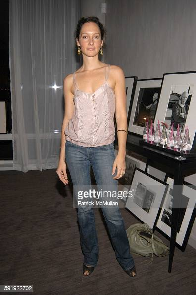 Jade Berreau attends Oxfam America Charity Event at 'Esquire Downtown' at Astor Place at Esquire Downtown at Astor Place on October 7 2005 in New...