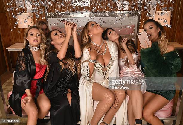 Jade Chapman Maryam Maquillage Mariah Carey Laura Lee and Arika Sato attend MAC Cosmetics Mariah Carey Beauty Icon Launch at Baccarat Hotel on...