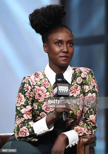 Jade Eshete attends the Build Series to discuss the show 'Dirk Gently's Holistic Detective Agency' at Build Studio on October 31 2017 in New York City