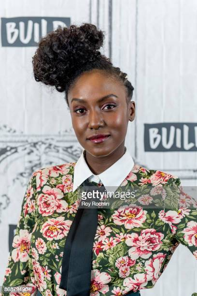 Jade Eshete discusses 'Dirk Gently's Holistic Detective Agency' with the Build Series at Build Studio on October 31 2017 in New York City