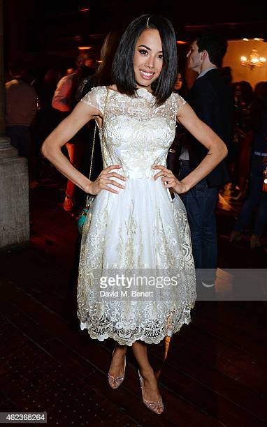 Jade Ewen attends the European Premiere of 'Selma' at One Mayfair on January 27 2015 in London England
