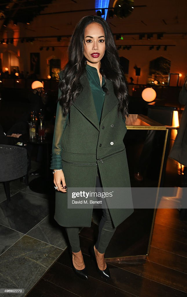 Jade Ewen attends the launch of new restaurant German Gymnasium on November 12, 2015 in London, England.