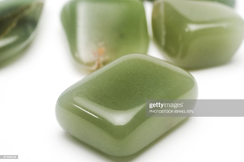 Jade gemstones