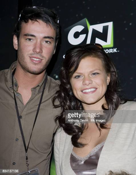 Jade Goody and Jack Tweed arrive for the premiere of 'Ben 10 Race Against Time' at the Vue in Leicester Square London