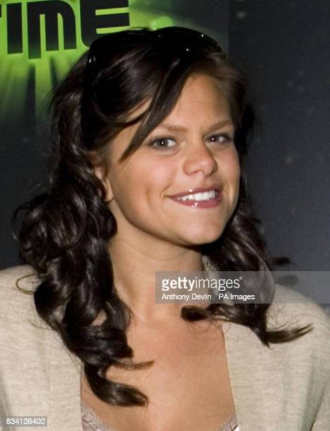 Jade Goody arrives for the premiere of 'Ben 10 Race Against Time' at the Vue in Leicester Square London