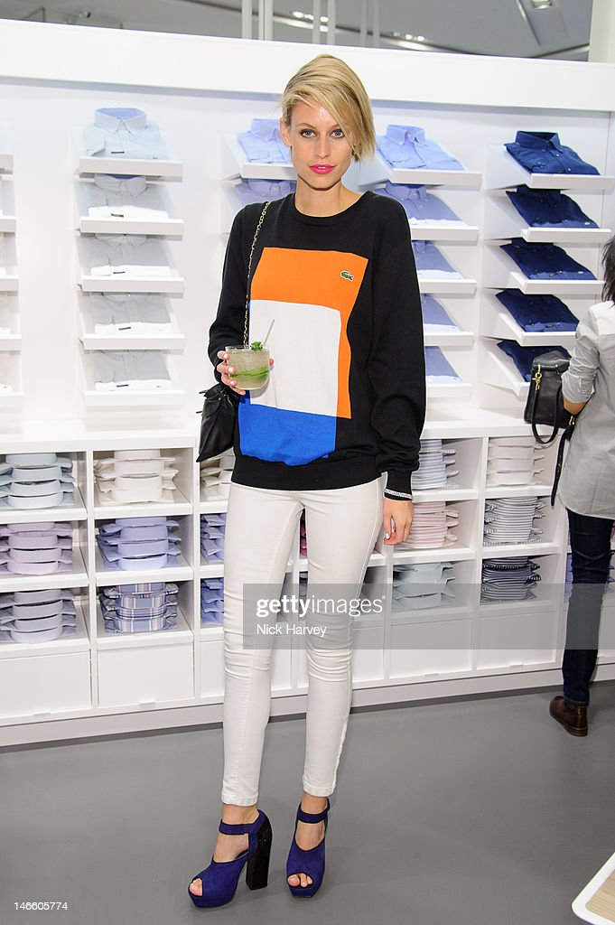 Jade Jackson attends the launch of the Lacoste flagship store on June 20, 2012 in London, England.