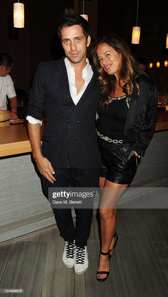 Jade Jagger and Dan Williams attend private dinner hosted by AnOther Magazine to celebrate the latest cover star Bjork at Sake No Hana on September 20, 2010 in London, England.
