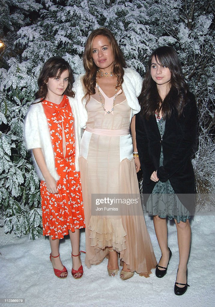 Jade Jagger and daughters during 'The Chronicles of Narnia The Lion The Witch and the Wardrobe' London Premiere After Party at Kensington Gardens in...