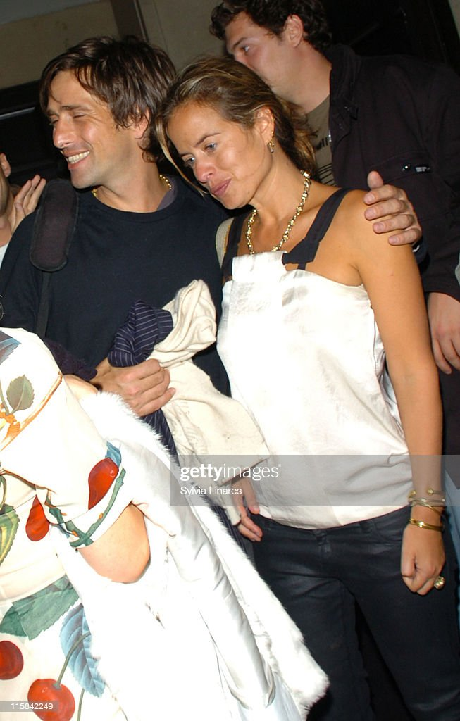 Jade Jagger and guest during Celebrity Sightings at Amika Club in London May 6 2007 at Amika Club in London Great Britain