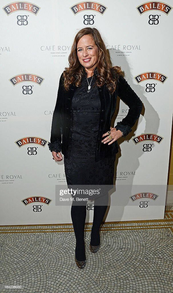 Jade Jagger arrives at the launch of Baileys new sleek bottle design at the Cafe Royal hotel on March 21, 2013 in London, England.