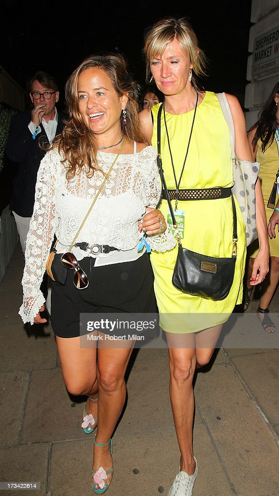 Jade Jagger at Lou Lou's club on July 13, 2013 in London, England.