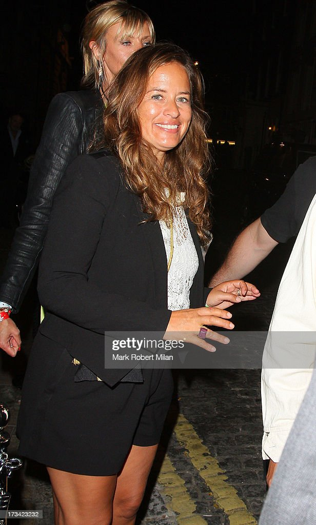 Jade Jagger at Loulou's club on July 13, 2013 in London, England.