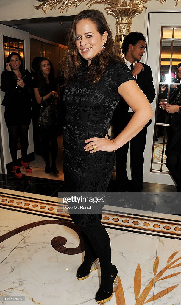 Jade Jagger attends a drinks reception at the Amy Winehouse Foundation Ball held at The Dorchester on November 20, 2012 in London, England.