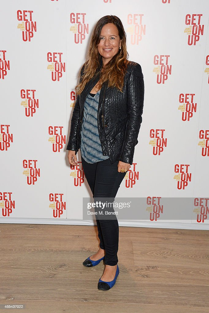 Jade Jagger attends a special screening of 'Get On Up' at The Ham Yard Hotel on September 14 2014 in London England