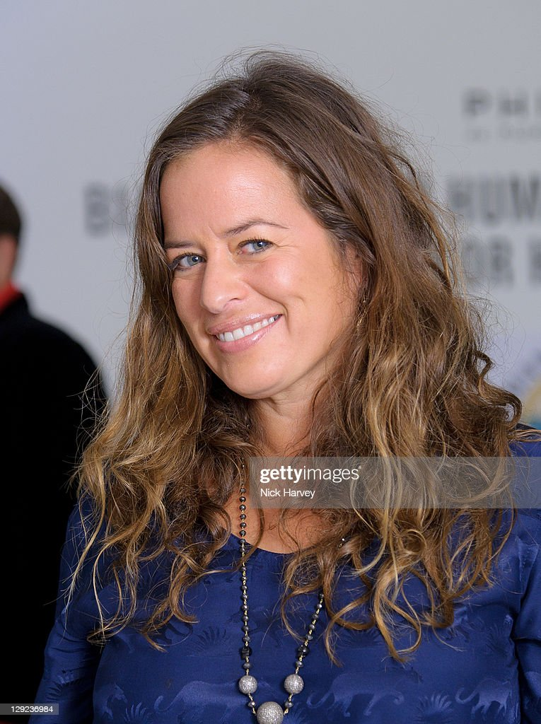 Jade Jagger attends charity auction in aid of the Bianca Jagger Human Rights Foundation at Phillips de Pury And Company on October 14 2011 in London...