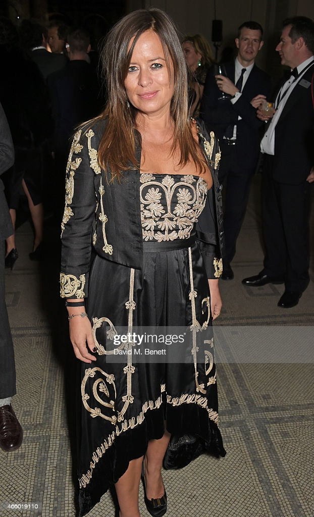 <a gi-track='captionPersonalityLinkClicked' href=/galleries/search?phrase=Jade+Jagger&family=editorial&specificpeople=203052 ng-click='$event.stopPropagation()'>Jade Jagger</a> attends the Alexander McQueen: Savage Beauty Fashion Gala at the V&A, presented by American Express and Kering on March 12, 2015 in London, England.