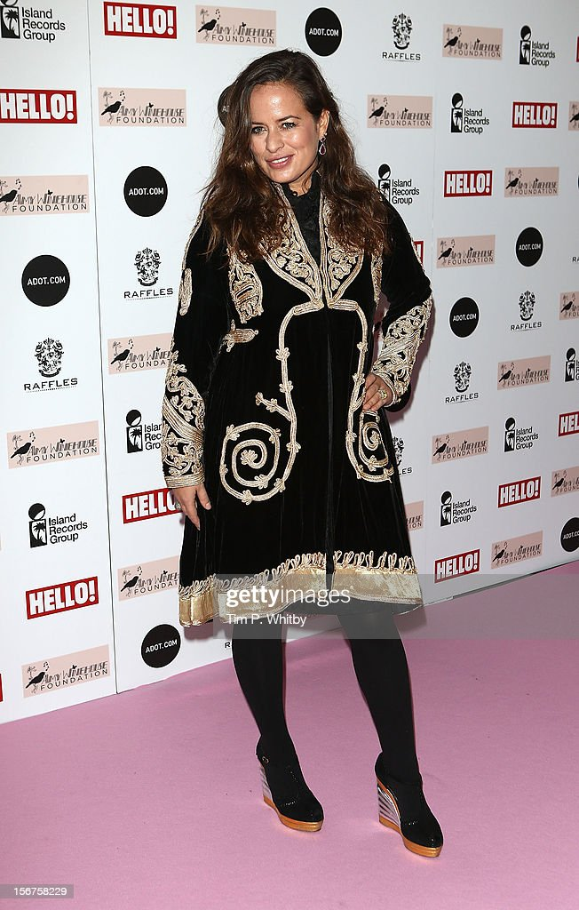 Jade Jagger attends The Amy Winehouse Foundation Ball at The Dorchester Hotel on November 20, 2012 in London, England.