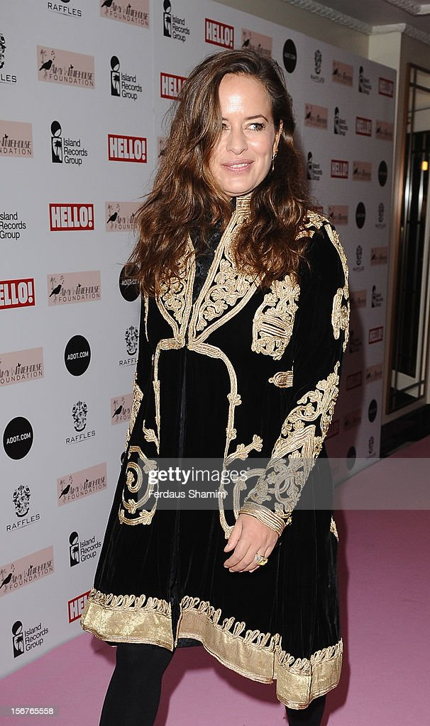 Jade Jagger attends The Amy Winehouse Foundation Ball on November 20, 2012 in London, England.